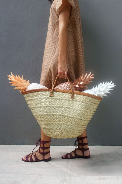 Palm Leaf Shopper