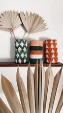 Load and play video in Gallery viewer, Rwandan Woven Vase - Multi