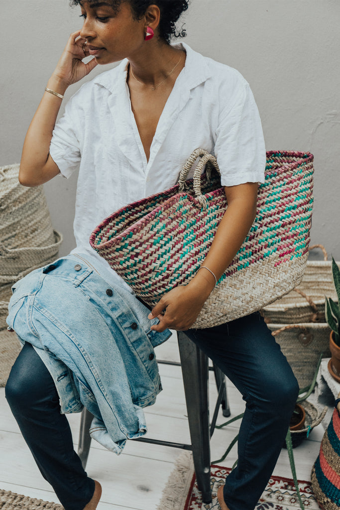 Color Weave Shopper