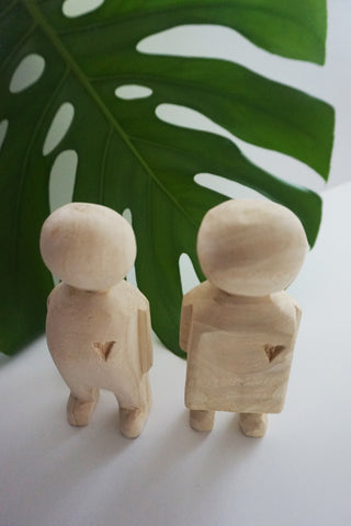 Carved Couple