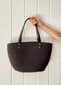 Ghanaian Classic Tote - Black