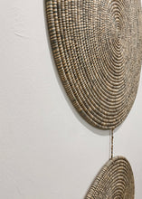 Load image into Gallery viewer, Woven Wall Pendant - Opal Gray