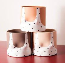 Load image into Gallery viewer, Polka Dots Top Pot
