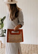 Load image into Gallery viewer, Rattan Bag - Tan