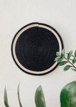 Load image into Gallery viewer, Black Sisal Trivet