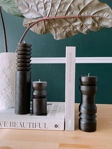 Black Totem Candle