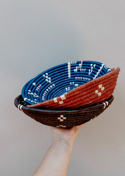 Large Tribe Bowl - Blue