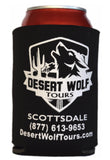 Desert Wolf Collapsable Coozie