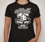 Ladies Black Logo Desert Wolf
