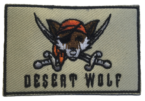 Desert Wolf Patch