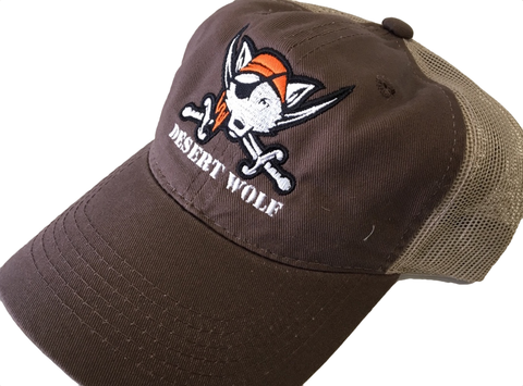 """Jolly Roger"" Wolf Mesh Hat"