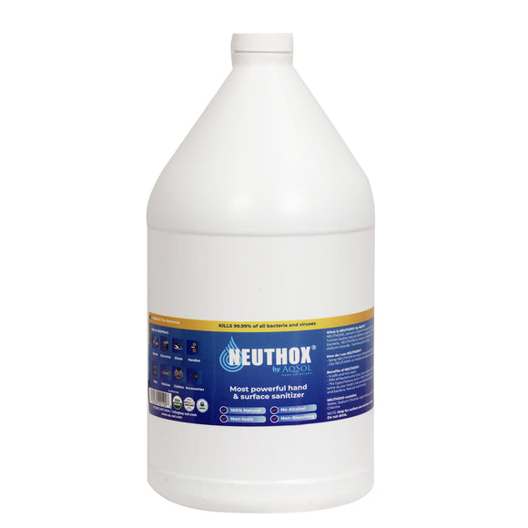 Surface Sanitizer Concentrate 500ppm (Neuthox) Gallon Jugs