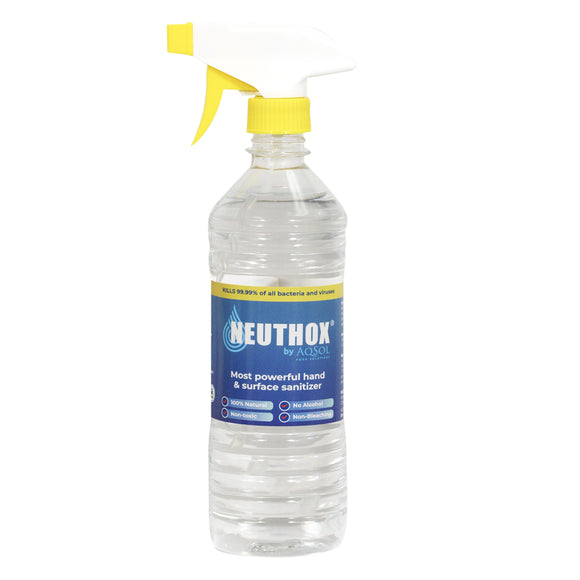 Hand and Surface Sanitizer (Neuthox) (12oz) Trigger Sprayers