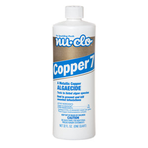 Copper 7 Algaecide (16oz & 32oz)