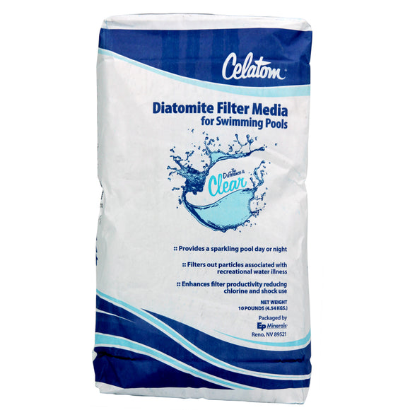 Celatom Diatomite Filter Media - DE (Diatomaceous Earth) Powder