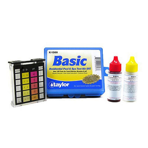 Taylor K-1000 Basic Residential Pool and Spa Test Kit