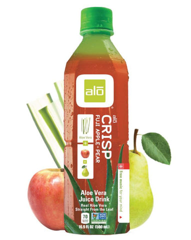 ALO Crisp Fuji Apple & Pear 12 x 500ml - Fine Food Direct