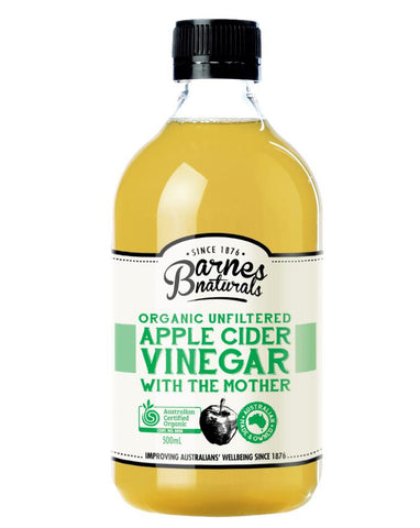Barnes Naturals Organic Apple Cider Vinegar 500ml - Fine Food Direct