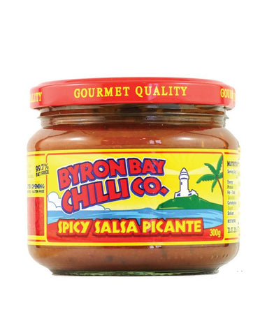 Byron Bay Chilli Spicy Salsa Picante 300g - Fine Food Direct