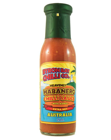 Byron Bay Chilli Heavenly Habanero 250ml - Fine Food Direct