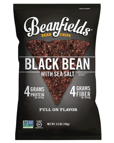 Beanfields Bean Chips Black Bean 156g