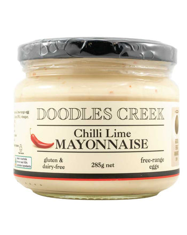 Doodles Creek Chilli, Lime Mayonnaise 285g - Fine Food Direct