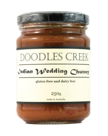 Doodles Creek Indian Wedding Chutney 280g - Fine Food Direct