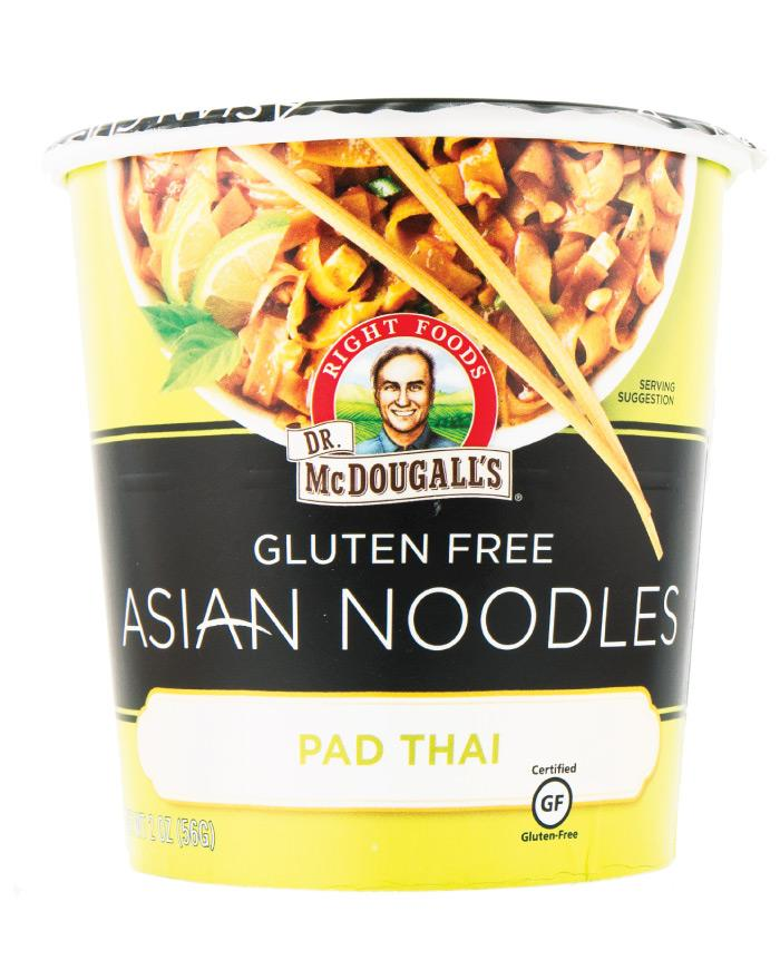 Dr. McDougall's Gluten Free Asian Style Pad Thai Noodles 6 x 58g - Fine Food Direct