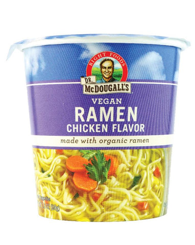 Dr. McDougall's Big Cup Chicken Ramen 6 x 51g - Fine Food Direct
