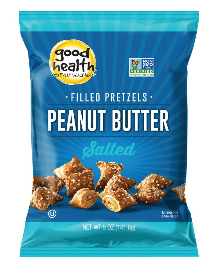 Good Health Peanut Butter Pretzels 142g - Fine Food Direct
