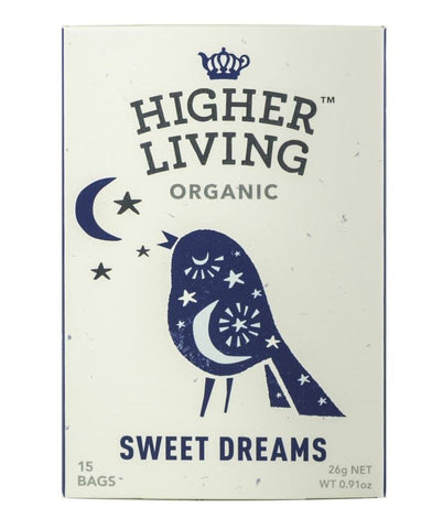 Higher Living Organic Sweet Dreams 3 x 22g - Fine Food Direct