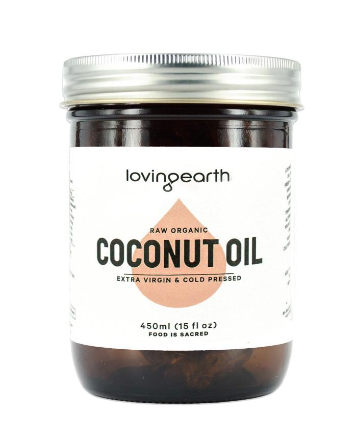 Loving Earth Cold Pressed Coconut Oil 450ml