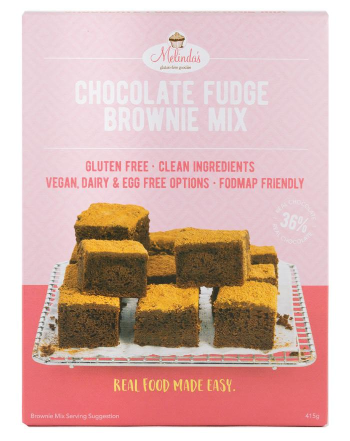 Melinda's Bakery Choc Fudge Brownie 415g - Fine Food Direct