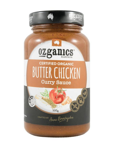 Ozganics Butter Chicken Curry Sauce 500g - Fine Food Direct