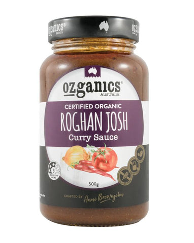 Ozganics Roghan Josh Curry Sauce 500g - Fine Food Direct