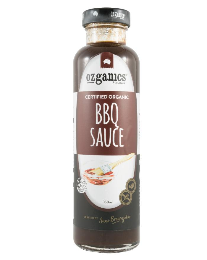 Ozganics BBQ Sauce 350ml - Fine Food Direct