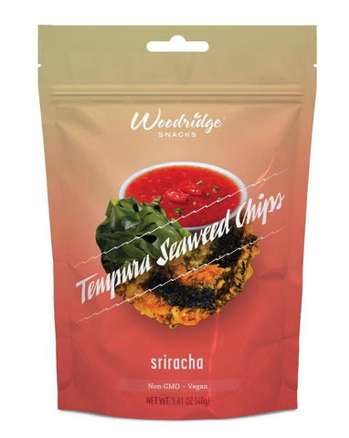 Woodridge Tempura seaweed Siracha 40g - Fine Food Direct