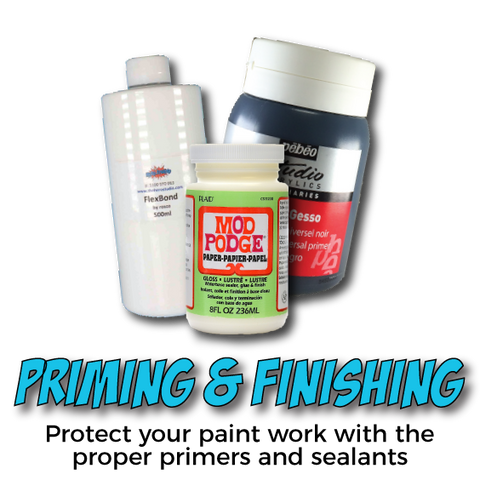 SHOP PRIMING & FINISHING