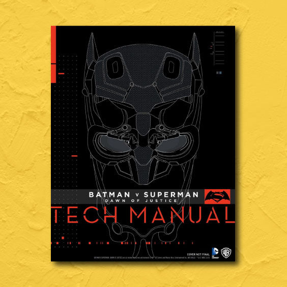 cosplay book batman superman tech manual