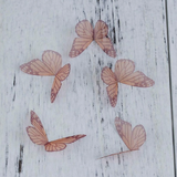 Organza Butterfly Embellishments: 20 Pack