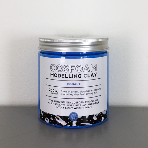 CosFoam Modelling Clay: Cobalt