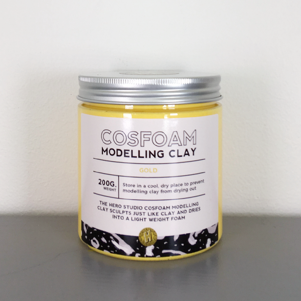 CosFoam Modelling Clay: Gold
