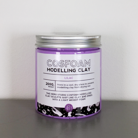 CosFoam Modelling Clay: Lilac