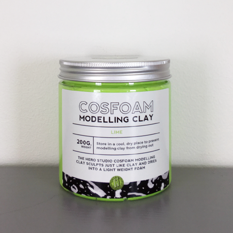 CosFoam Modelling Clay: Lime