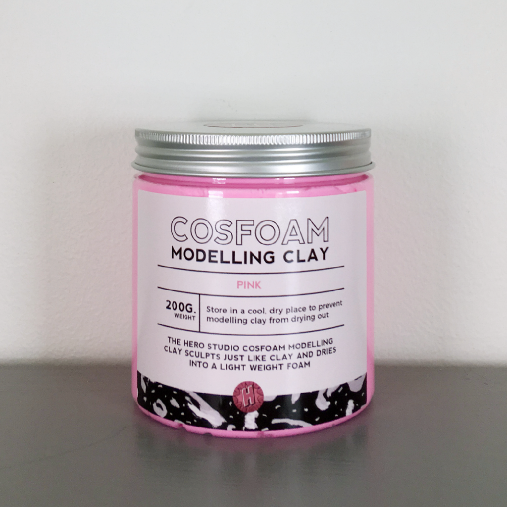 CosFoam Modelling Clay: Pink