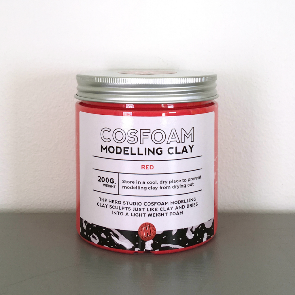 CosFoam Modelling Clay: Red