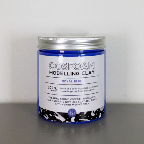 CosFoam Modelling Clay: Royal Blue