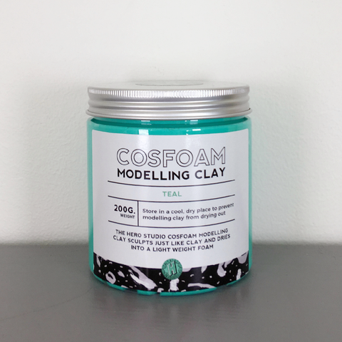 CosFoam Modelling Clay: Teal