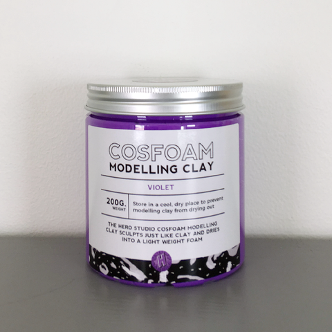 CosFoam Modelling Clay: Violet