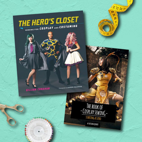 cosplay book bundle sewing